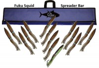 "Fuku Squid Bar 36"" w/15 11"" squid"