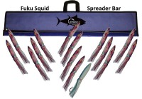 "Fuku Squid Bar 48"" w/15 13"" Squid"