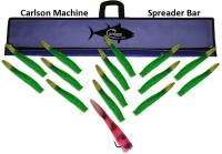 "Machine Spreader Bar 36"" w/15 12"" Machine Lures"