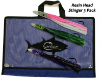 "Carlson Resin Head 9"" Stinger 3-Pack"