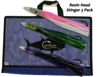 "Carlson Resin Head 12"" Stinger 3-Pack"