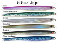 Vertical Tuna Jig 5.5 oz