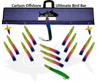 "Ultimate Bird Bar 36"" w/15 12"" Machines"