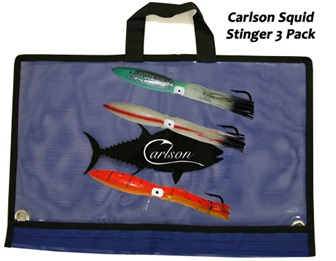 Carlson Squid Stinger 3-Pack 18""