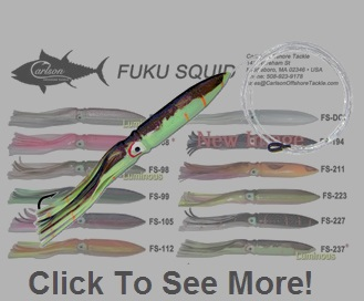 "Carlson Fuku Squid 11"" Rigged W/Bag"